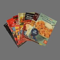 Seven (7) Vintage Pillsbury Grand National Bake-Off Recipe Booklets – 10th thru 16th 1958-1964