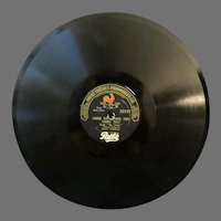 Vintage Pathe Freres Phonograph Record – Gimme This / Sipping Cider Thru a Straw