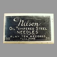 Vintage Nelson Steel Phonograph Needles - Nelson 50 in Unopened Package