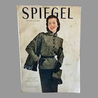 1951 Spiegel Fall and Winter Catalog with Vintage Fashions, Toys & Furnishings