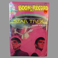 1979 Star Trek Book & Record Set - 45rpm Trekkie Fun