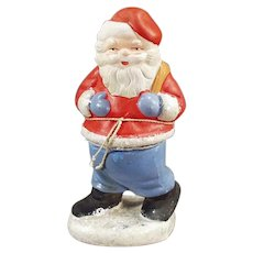 Vintage Christmas Candy Container made in West Germany - Santa Claus