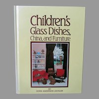 Vintage Reference Book – Children's Glass Dishes, China, and Furniture by Lechler 1983-1991