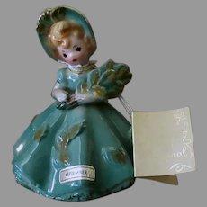 Vintage Josef Original Porcelain - Doll of the Month Series - Month of September