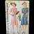 Vintage 1940's Misses' Fashion Women's Shirtmaker Dress -Simplicity #3898 Pattern Size 12