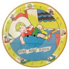 Child's Vintage 1941 Pix Talking Picture Record – Deedle Deedle Dumpling, My Son John