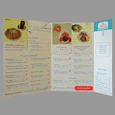 Vintage Toddle House Restaurant Menu - 1950's/1960's – Filet Mignon only $1.50