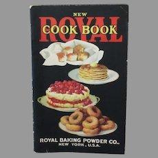 Vintage 1922 Recipe Book - Royal Cook Book Baking Powder Advertising