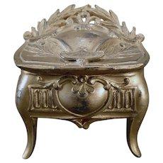 Vintage Jewelry Casket Dresser Box - Des Moines, Iowa Souvenir