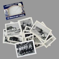 Vintage Souvenir Photo Pack Mailer - Black & White Photographs of Honolulu Hawaii T.H.