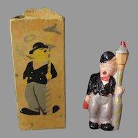 Vintage Celluloid Smoking Novelty Toy - Smokie Joe