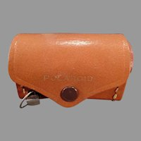 Vintage Polaroid Camera Accessory Kit - Lens Pouch with Attached Metal Tape Measure