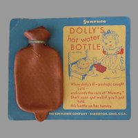 Vintage Dolly's Hot Water Bottle on Original Packaging – Sun Rubber Co.
