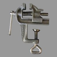 Small Vintage Pebaro Clamp On Vise - Made in Germany