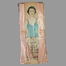 Vintage, Unused BudStrap Adjustable Shoulder Straps for Slips and Brassieres