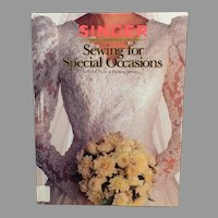 Singer Sewing Book for Special Occasions – Bridal, Prom and Evening Dresses