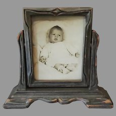 Vintage Table Top, Swing Style Photo Frame