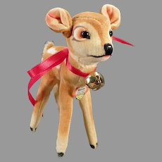 Vintage Steiff Bambi Deer with Original Steiff Hang Tag