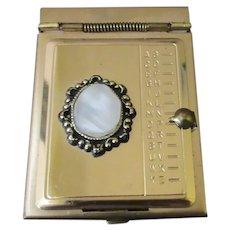Vintage Pocket or Purse Size Phone Keeper Index