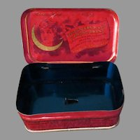 Vintage Chi-Ches-Ters Diamond Brand Medicine Pills, Medical Advertising Tin
