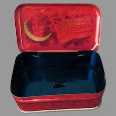Vintage Chi-Ches-Ters Diamond Brand Medicine Pills, Medical Advertising Tin