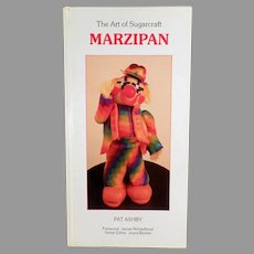 Fun 1986 Marzipan Craft Book- The Art of Sugarcraft - Hardbound Edition