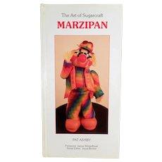 Fun 1986 Marzipan Craft Book- The Art of Sugarcraft - Hardbound Edition