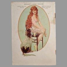 Vintage 1927 Polk Miller's Advertising Booklet - Great Dog Reference Material