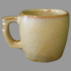 Vintage Frankoma Pottery - Plainsman 5C Cup, Desert Gold, Ada Clay