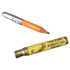 Vintage Advertising Bullet Pencil – Emrich's Furniture of Indianapolis