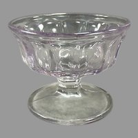 Vintage Soda Fountain Sherbet Dish - Turning Pale Purple