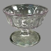 Vintage Soda Fountain Sherbet Dish - Turning Light Purple