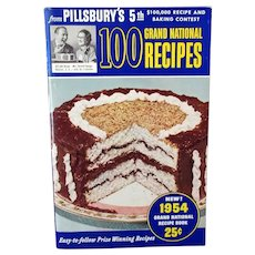 Vintage Pillsbury 1953 5th Grand National Bake-Off Recipe Booklet - First Edition