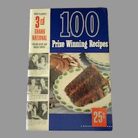 Vintage Pillsbury 3rd Grand National Bake-Off Recipe Booklet -1951 1st Edition