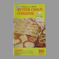 Vintage 1950's Pillsbury's Best Butter Cookie Cookbook Recipe Booklet