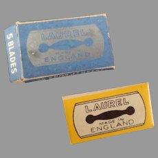 Vintage Lady Laurel Safety Razor Replacement Blades - Box of 5