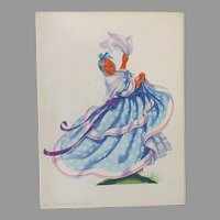 Vintage S.S. Argentina Luxury Liner Menu with Colorful Cover – Dancing the Gato