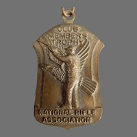 Vintage National Rifle Association - 1965 NRA Medal Pin with Original Ribbon