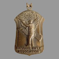 Vintage National Rifle Association - 1965 NRA Medal Pin with Original Ribbon