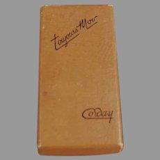 Vintage Perfume Box - Corday Toujours Moi Perfume, Empty Box