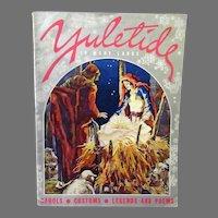 Vintage Booklet of Christmas Carols, Customs, Legends and Poems – Yuletide in Many Lands