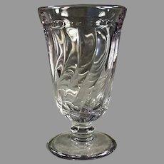 Vintage Fostoria #2412 Colony Pattern Water Goblet - Sun Purple - Eight (8) Available