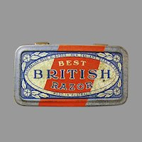 Empty Vintage Razor Tin - Best British Razor Tin - Australia - New Zealand
