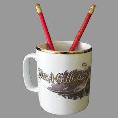 A.C. Houston Lumber Co. Souvenir Coffee Cup & Advertising Pencils