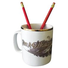 A.C. Houston Lumber Co. Souvenir Coffee Cup & Advertising Pencils