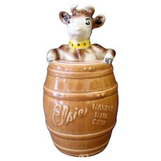 Vintage Elsie the Cow Cookie Jar – Borden Advertising