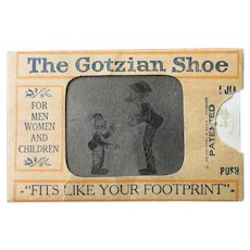 Vintage Optical Illusion Flicker Toy with Mutt & Jeff – Old Shoe Advertising
