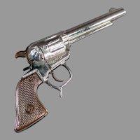 Vintage Geo. Schmidt Roy Rogers Cap Pistol  - 1950's Western Toy Gun