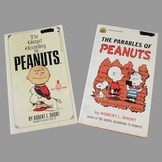 Two Paperback Books – Gospel According to Peanuts & Parables of Peanuts