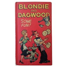"""Vintage 1949 Some Fun Blondie and Dagwood  """"New"""" Better Little Book"""